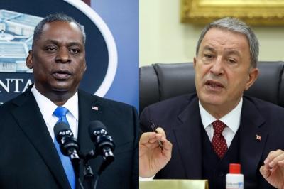 Συνομιλία Austin - Akar: Δέσμευση για στενότερη συνεργασία ΗΠΑ και Τουρκίας - Στο τραπέζι Κουρδικό, S-400 και F-35