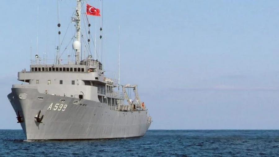 Οι Τούρκοι «καταγγέλλουν» παρενόχληση του Cesme από ελληνικά μαχητικά - Σε εξέλιξη η «Γαλάζια Πατρίδα» με 87 πλοία