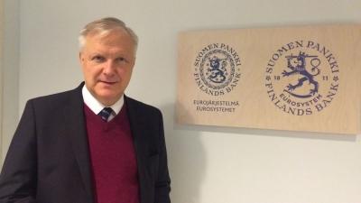 Rehn (ΕΚΤ): Από το Σεπτέμβριο η συζήτηση για «φρένο» στο πρόγραμμα αγοράς ομολόγων – Να διασφαλίσουμε ευνοϊκούς όρους χρηματοδότησης