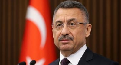 Oktay (αντιπρόεδρος Τουρκίας): Επιθετική η στάση της Ελλάδας – Θα υποστηρίξουμε μέχρι τέλους τη Γαλάζια Πατρίδα