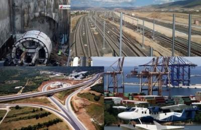 Εντός χρονοδιαγραμμάτων οι επενδύσεις σε αεροδρόμια, λιμάνι και σιδηρόδρομο, παρά τον κορωνοϊό