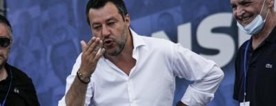 Αντικυβερνητική συγκέντρωση στη Ρώμη – Salvini: Εμείς θα κυβερνήσουμε την Ιταλία