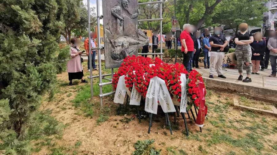Εργατική Πρωτομαγιά στη Θεσσαλονίκη με κατάθεση στεφάνων