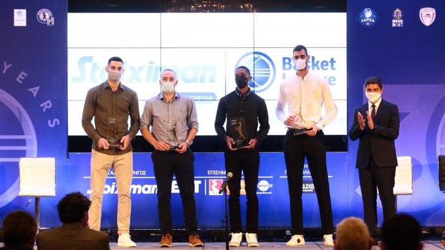 Basket League: Οι δηλώσεις και οι βραβεύσεις των περσινών πρωταγωνιστών (video)