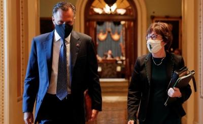 ΗΠΑ: Συμβιβαστική πρόταση 10 Ρεπουμπλικάνων γερουσιαστών για το πακέτο τόνωσης
