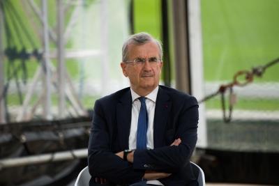 Villeroy (EKT): Ανοιχτό το ενδεχόμενο μείωσης του ρυθμού αγοράς κρατικών τίτλων λόγω πανδημίας (PEPP)