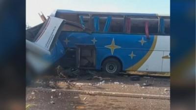 Τραγωδία στη Βραζιλία: Πάνω από 40 νεκροί σε σύγκρουση λεωφορείου με φορτηγό