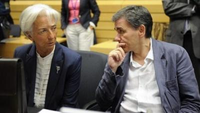 Για το Eurogroup 12/7 μετατίθεται ο στόχος για συνολική συμφωνία με τους δανειστές - Στις 21/4 η συνάντηση Τσακαλώτου - Lagarde