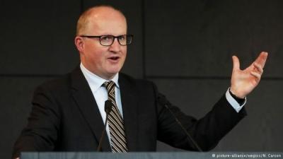 Lane (ΕΚΤ): Πρώιμη ακόμη και το Σεπτέμβριο η συζήτηση για «φρένο» στο πρόγραμμα αγοράς ομολόγων
