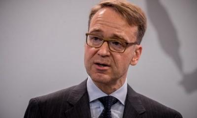 Weidmann: «Ψευδαίσθηση» η πλήρης αποτροπή των επόμενων οικονομικών κρίσεων