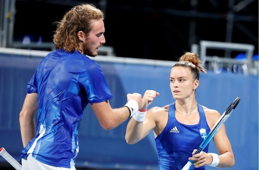 Τένις, Μεικτό διπλό: Ηττήθηκαν και αποχαιρέτησαν οριστικά τους Ολυμπιακούς Αγώνες Τσιτσιπάς και Σάκκαρη (vid)