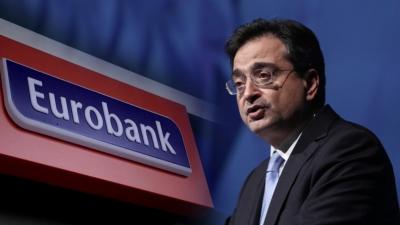 Η Eurobank δεν σχεδιάζει αύξηση κεφαλαίου – Προσωπική επιλογή Καραβία η αύξηση της απόδοσης κεφαλαίου (RoE)