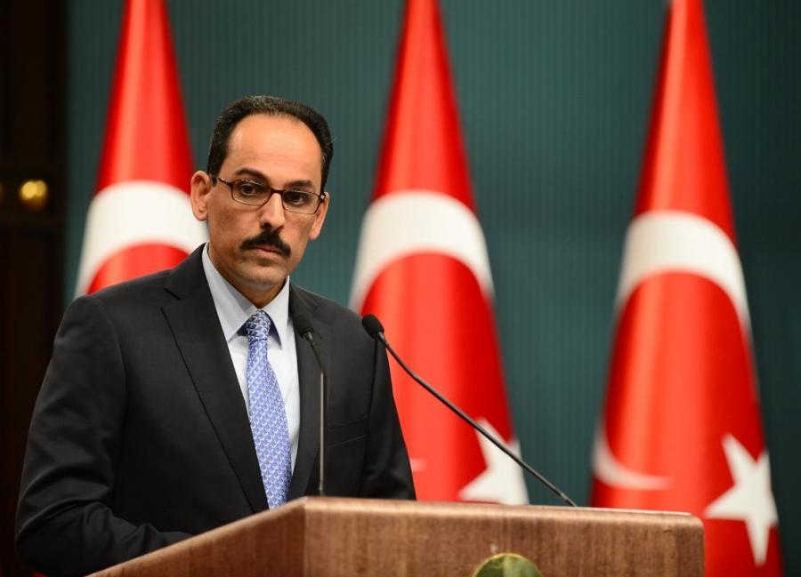 Kalin (εκπρόσωπος Erdogan): Η Τουρκία θα απαντήσει στις ΗΠΑ και ήδη εξετάζει αντίποινα
