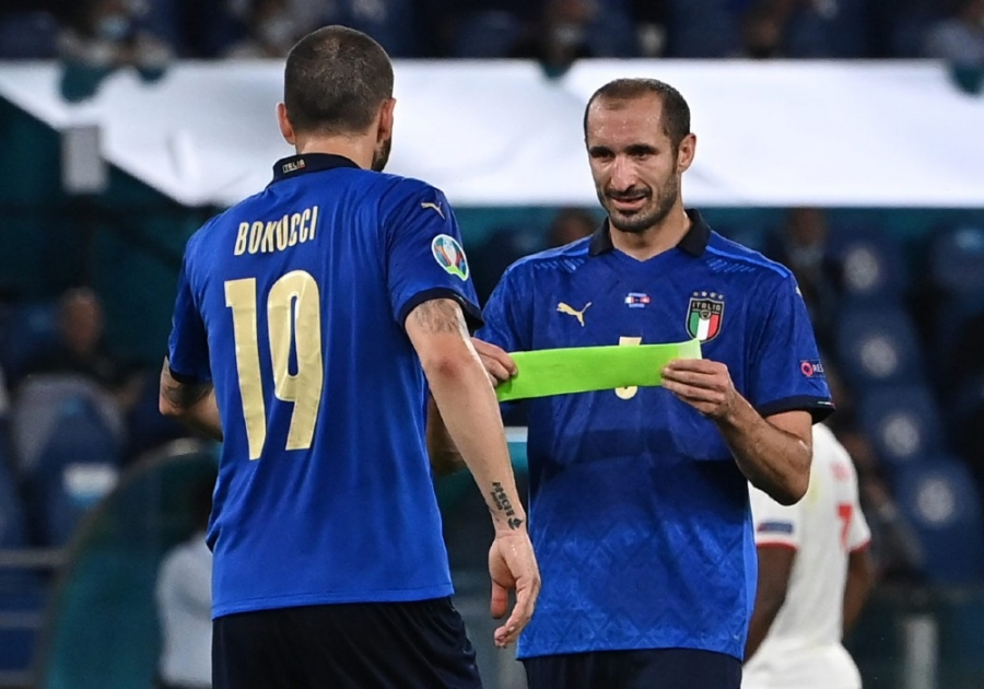 EURO 2020: Θα καταφέρει η Αγγλία να σπάσει το «αήττητο» δίδυμο της εξαετίας, του Μπονούτσι με τον Κιελίνι;