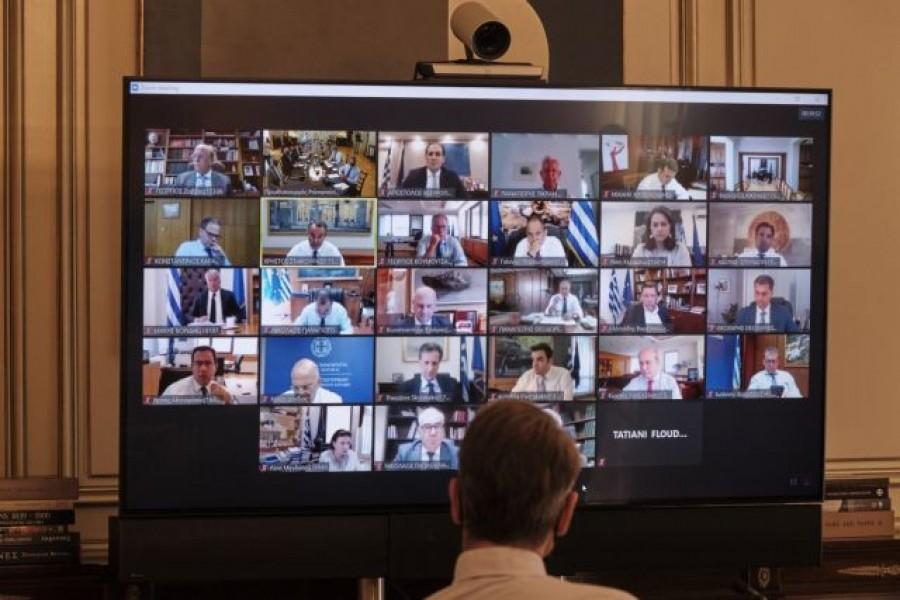 Στις 29/10 το Υπουργικό Συμβούλιο μέσω τηλεδιάσκεψης - Αυτή είναι η ατζέντα των θεμάτων