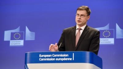 Dombrovskis: Tον Ιούλιο oι πρώτες εκταμιεύσεις από το Ταμείο Ανάκαμψης