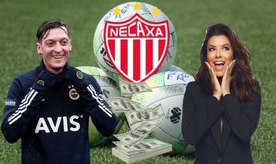 Ο Οζίλ, η Εύα Λονγκόρια και άλλοι επώνυμοι αναλαμβάνουν το 50% του Club Necaxa!