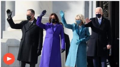 ΗΠΑ: Έφτασαν στο Καπιτώλιο για την ορκωμοσία οι Biden - Harris