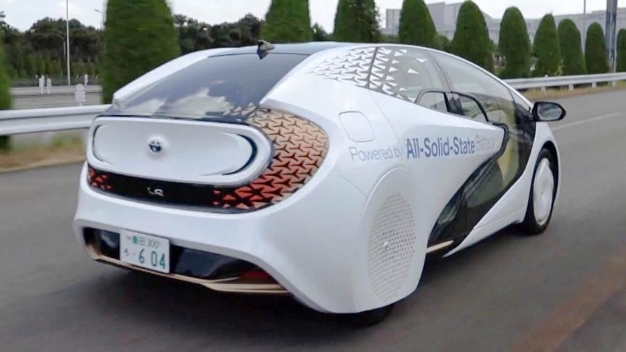 Προχωρά η Toyota με τις solid state μπαταρίες!