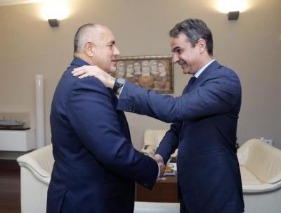 Ολοκληρώθηκε η συνάντηση Κυριάκου Μητσοτάκη με τον Boyko Borisov