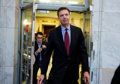 ΗΠΑ: Ενώπιον της Γερουσίας ο πρώην διευθυντής του FBI, καταθέτει για τους δεσμούς Trump με την Ρωσία στις εκλογές 2016