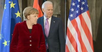 Merkel προς Biden: Προσβλέπω στη μελλοντική μας συνεργασία, αναντικατάστατη η διατλαντική σχέση