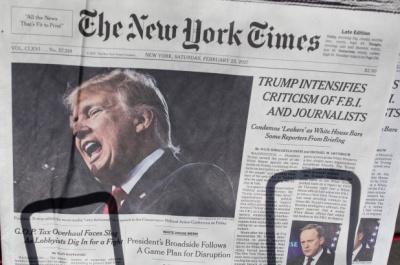 Μποϊκοτάζ Λευκού Οίκου σε New York Times και Washington Post