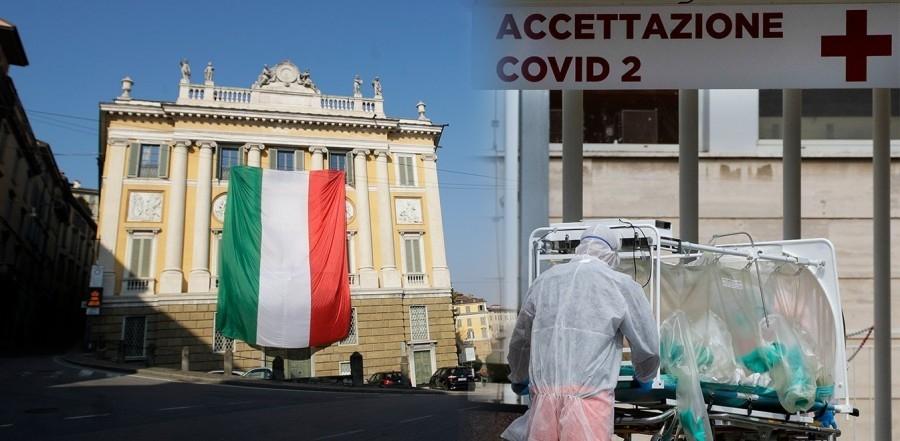 Ιταλία: Τρίτο κύμα της πανδημίας και δρακόντειο lockdown στην Μπρέσια - Τέσσερις στους δέκα με μετάλλαξη