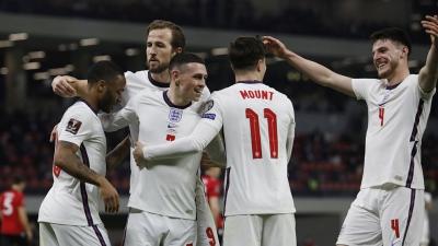 Εθνική Αγγλίας: Οι τέσσερις