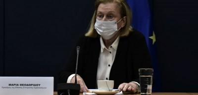 Θεοδωρίδου: Φαιδρή η παραπληροφόρηση για το εμβόλιο - «Διαφανής» η ιεράρχηση όσων θα εμβολιαστούν