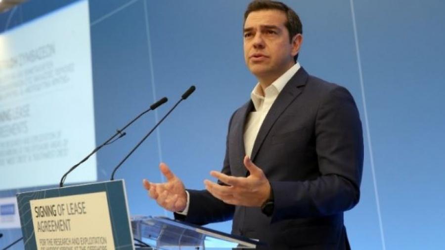 Τσίπρας: Τεράστιας γεωπολιτικής σημασίας η υπογραφή συμβάσεων για υδρογονάνθρακες - Pyatt: Ενεργειακός κόμβος η Ελλάδα