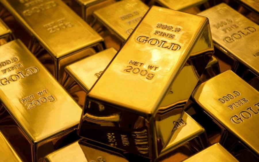 Μικρές απώλειες για τον χρυσό - Διαμορφώθηκε στα 1.807,7 δολ/ουγγιά