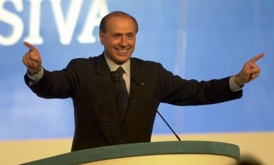 Berlusconi: Δεν θα αυξήσω τον ΦΠΑ για δύο χρόνια - Το 2011 έγινε πραξικόπημα σε βάρος μου