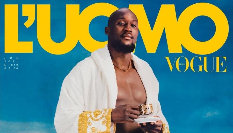 Λουκάκου: Εξώφυλλο στο ανδρικό Vogue