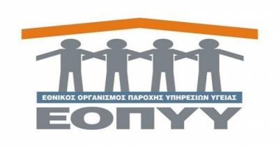 Κορωνοϊός: Έκτακτα μέτρα από τον ΕΟΠΥΥ – Ζητά να μην προσέρχονται οι ασφαλισμένοι