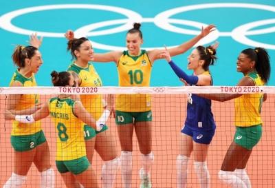Βόλεϊ: Τα βρήκε «σκούρα» η Βραζιλία αλλά νίκησε τον Άγιο Δομίνικο 3-2