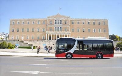 Στους δρόμους της Αθήνας δοκιμαστικά το πρώτο ηλεκτροκίνητο λεωφορείο της κινεζικής BYD