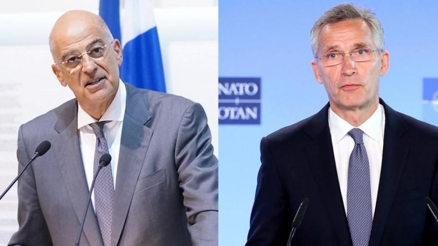 Δένδιας - Stoltenberg: Η κατάσταση στην Ανατολική Μεσόγειο και το μέλλον του ΝΑΤΟ στο επίκεντρο της συνάντησής τους αύριο 06/10