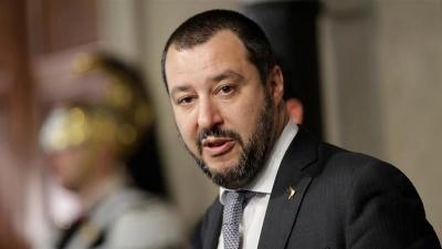 Salvini: Δεν θα πέσει η κυβέρνηση για το μεταναστευτικό – Η Ιταλία θα προχωρήσει