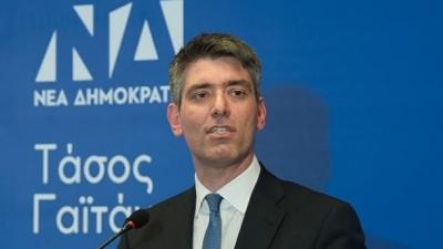 Γαϊτάνης (ΝΔ): Ο ΣΥΡΙΖΑ κάνει αντιπολίτευση ανάλογα την ευκαιρία – Κινείται σαν το εκκρεμές