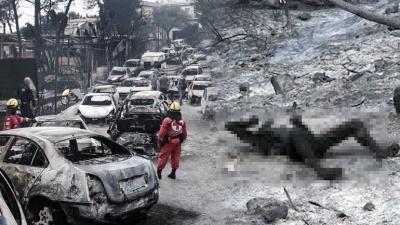 Εθνική τραγωδία από τις φονικές πυρκαγιές στην αν. Αττική με 81 νεκρούς, πιθανόν να φθάσουν τους 100 - Συγκλονιστικές μαρτυρίες κατοίκων από το Μάτι