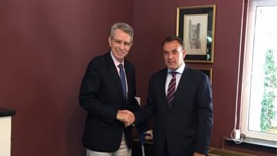 Συνάντηση Παναγιωτόπουλου με τον Αμερικανό πρέσβη για την τουρκική προκλητικότητα