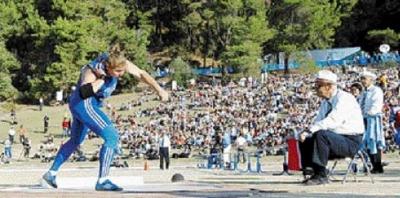 Σφαιροβολία: Η ιστορική επιστροφή στην Αρχαία Ολυμπία 1.611 χρόνια μετά!