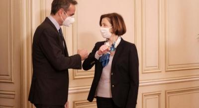 Η συνάντηση Μητσοτάκη με Parly για τα γαλλικά Rafale