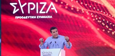 Tσίπρας: Νίκη του ΣΥΡΙΖΑ στις εκλογές για να φύγει η κυβέρνηση της παρακμής