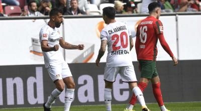 Bundesliga (3η αγωνιστική): Ισοπαλία για την Άιντραχτ, «τεσσάρα» και κορυφή για την Μπάγερ Λεβερκούζεν! (video)