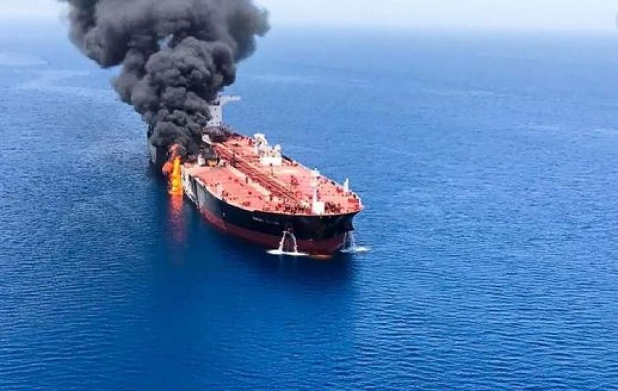 Έκρηξη σε βρετανικό πλοίο στον κόλπο του Ομάν