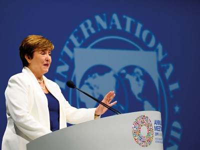 Georgieva (ΔΝΤ): Θα αναδείξουμε με μεγαλύτερη ένταση τις οικονομικές συνέπειες της κλιματικής αλλαγής
