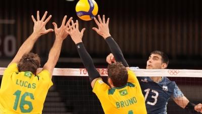 Βόλεϊ: Η Βραζιλία με πυγμή πρωταθλήτριας νίκησε με ανατροπή την Αργεντινή 3-2
