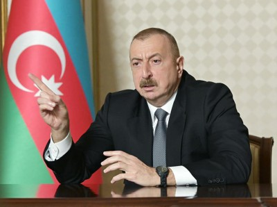 Aliyev (Πρόεδρος Αζερμπαϊτζάν): Η πρόταση της Ομάδας του Μινσκ να είναι η βάση για τη λύση στο Ναγκόρνο Καραμπάχ